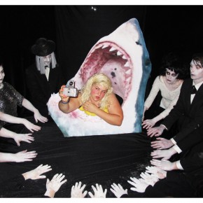 JaimieWarren_Self-portrait as Jaws Seance_30x40in_2012