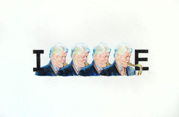 """INHALE"", 2012, colored pencil on paper, 30 x 44 inches"