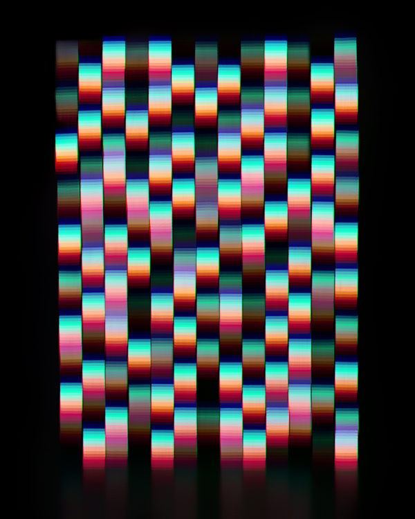 "Jessica Eaton, ""Interpolation Dramatization (RGB) 18"", 2012, C-print, 40 x 32 inches, Edition1/5"