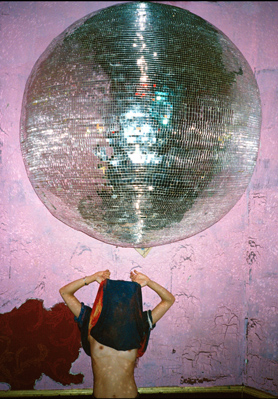 "Sandy Kim, ""Stella: Disco Ball"", 2012 digital C print with frame 21 x 29 inches, framed"