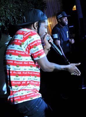 Special live performance at Delano Beach Club December 5th, 2012