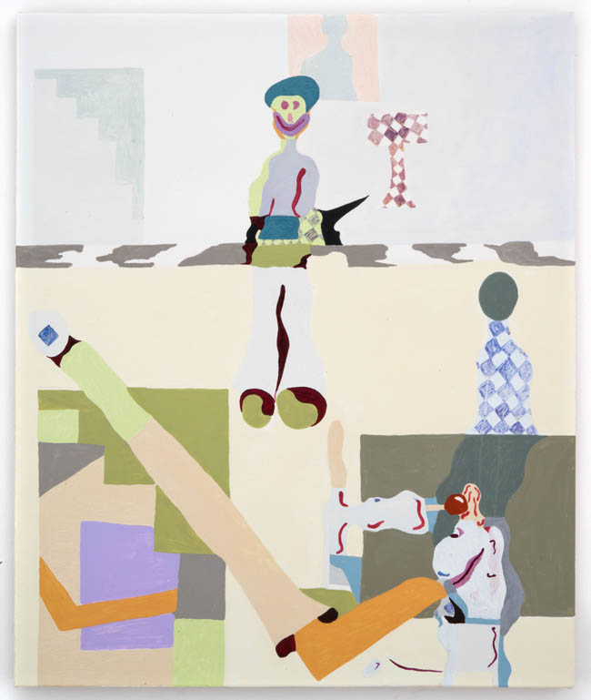 "Keegan McHargue, ""Slapstick"", 2013, oil on canvas, 32 x 26 inches, 81 x 66 cm"