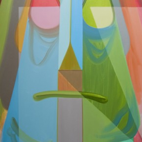 "Anders Oinonen, ""Upsopposite"", 2012, oil on canvas, 72 x 60 canvas, 183 x 152 cm"