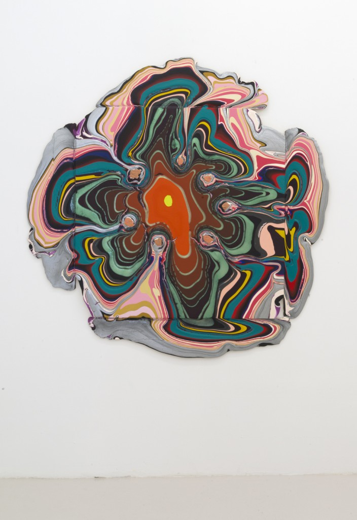 """When I'm Dead"", 2013, acrylic on wood, 68.5 x 70.5 x 1.5 inches, 174 x 179 x 3.5 cm"