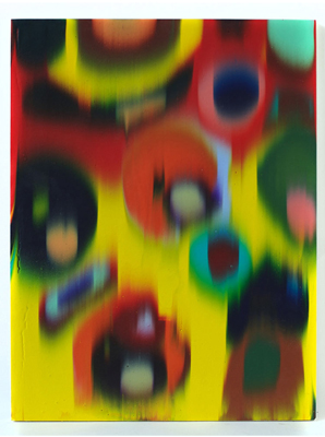 HOLTON ROWER, Focus Paintings, Pour Paintings