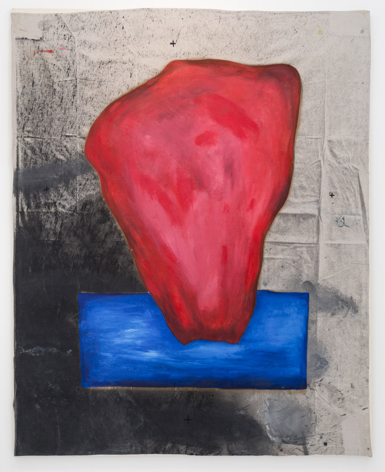 Lance de los Reyes, Red Stone in Water, 2014