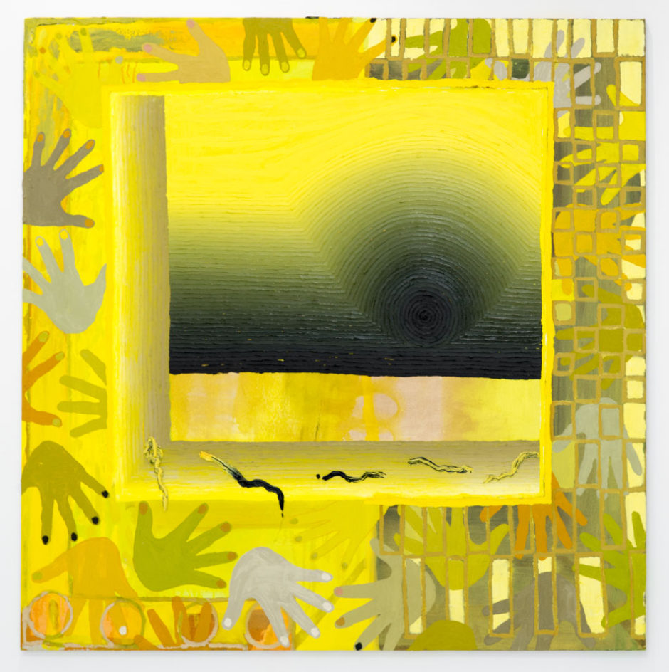 "Paul DeMuro, ""Untitled"", 2013, acrylic on canvas, 49.5 x 50 inches, 125.5 x 127 cm"