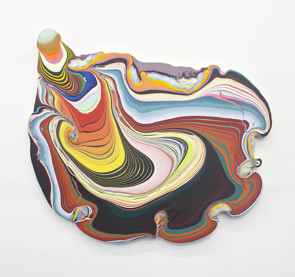 Kathy Said It's an Oyster--I Don't Know, 2013, 52 x 59 x 2.5 inches