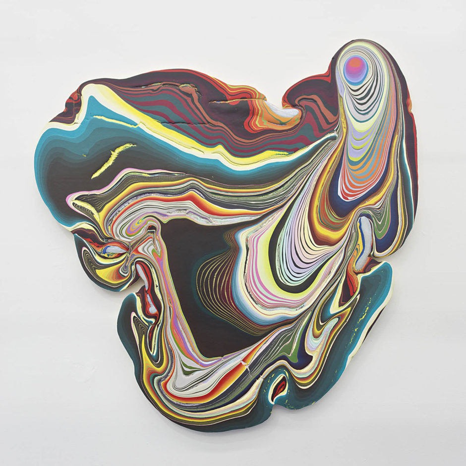 Holton Rower, 5ae7f, 2013, 57.5 x 56.25 x 2 inches