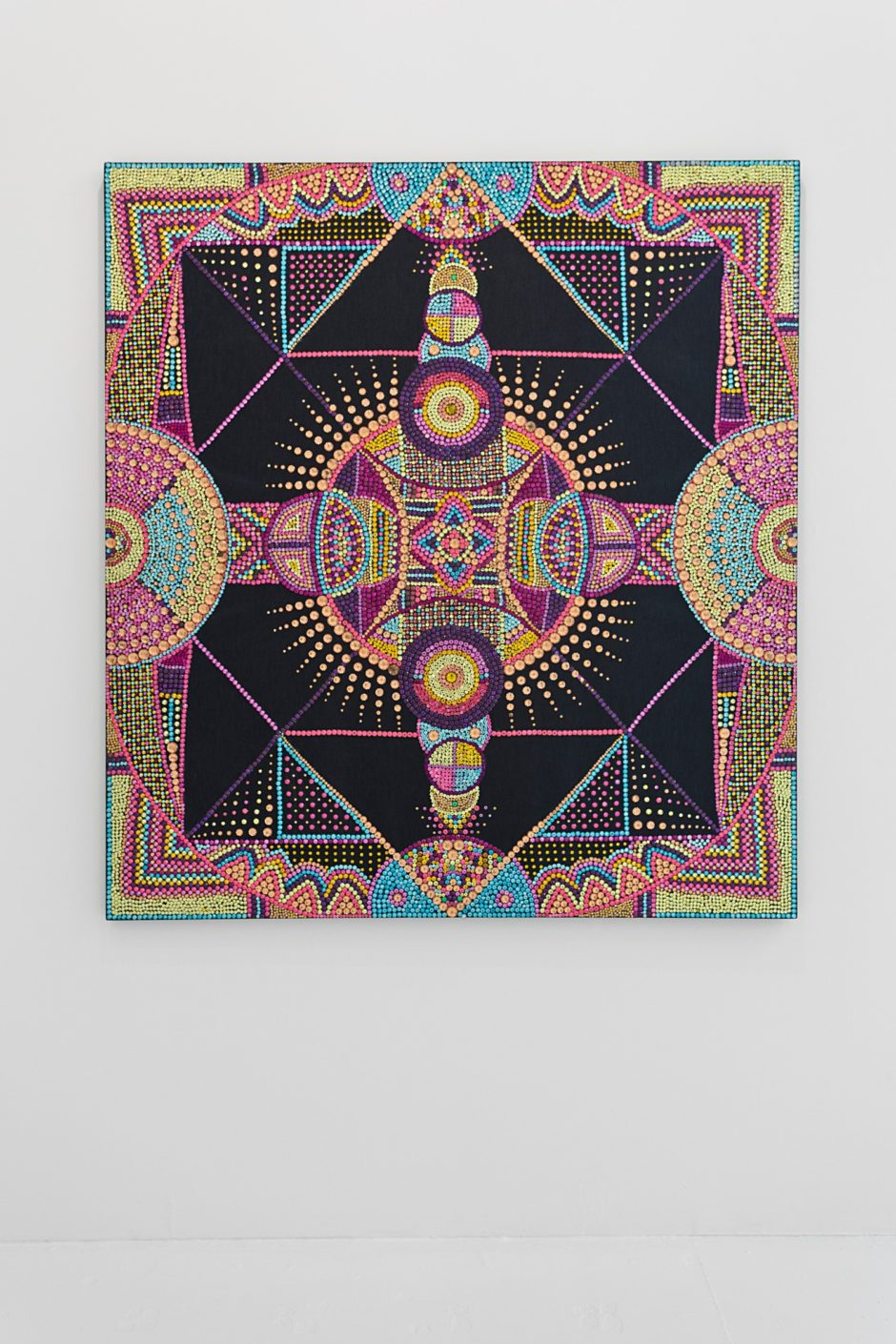 Evie Falci, Manipura, 2013, 66 x 60 inches
