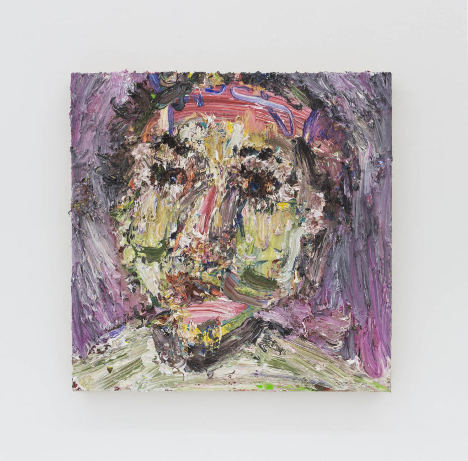 """""""Tom"""", 2015, oil on panel, 20 x 20 inches, 50.8 x 50.8 cm"""