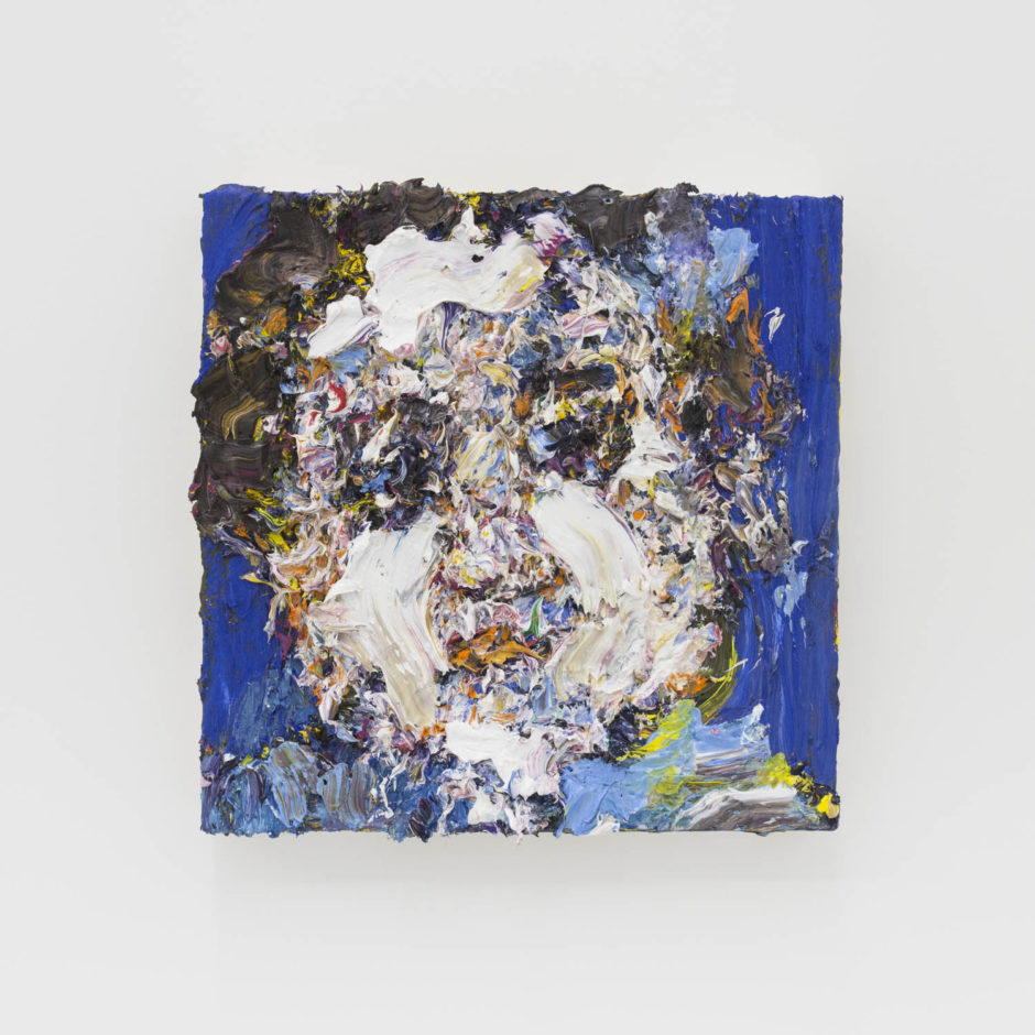 """""""Danny"""", 2016, oil on wood, 12 x 12 inches, 30.5 x 30.5 cm"""