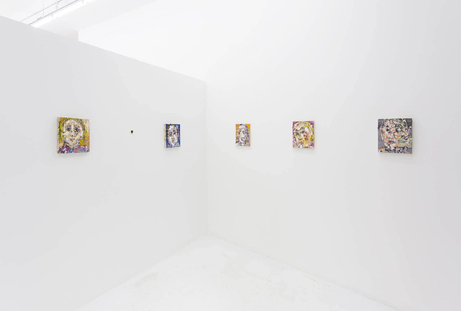 VP Install wall of small paintings