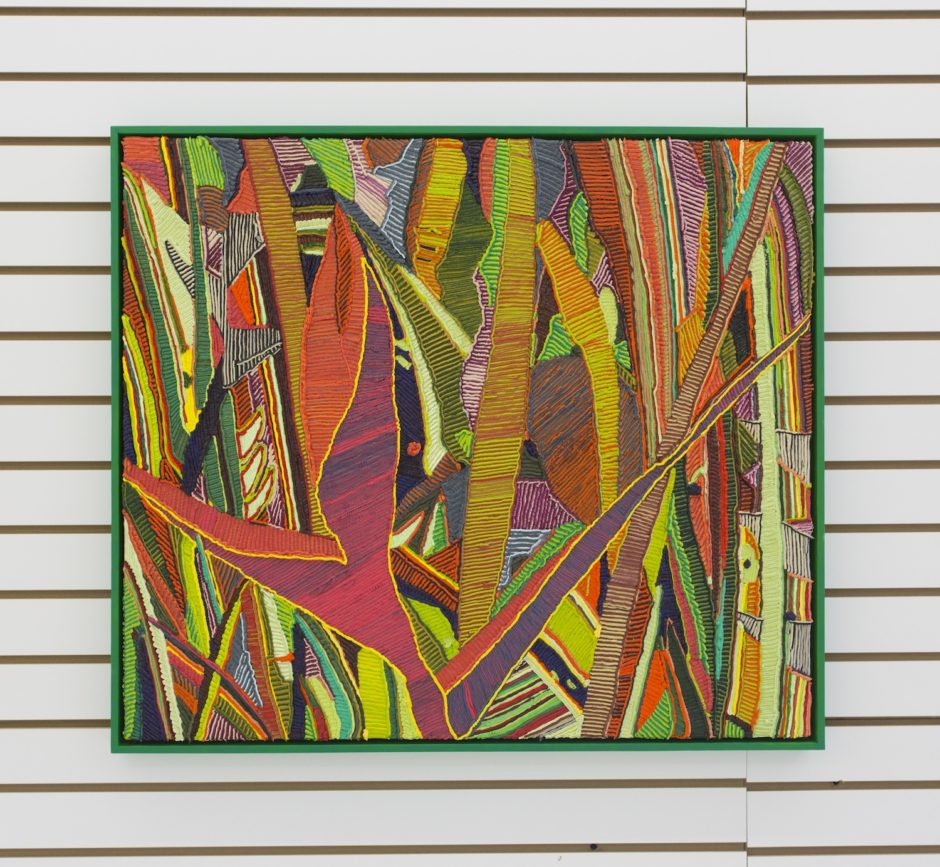 """Everglades"", 2012, Oil on canvas over board, 28.25 x 32.25 inches / 71.8 x 81.9 cm"