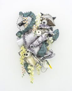 Sculpture, animals, abstract, abstraction, mixed media