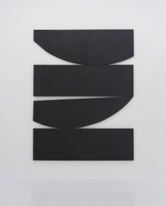 Johnny Abrahams, painting, geometric, black and white, minimalist, minimalism