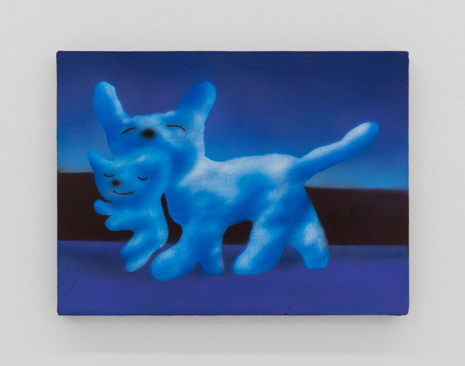 "Austin Lee, ""Kitten Study"", 2017, acrylic on linen, 12 x 16 inches, 30.5 x 40.5 cm"