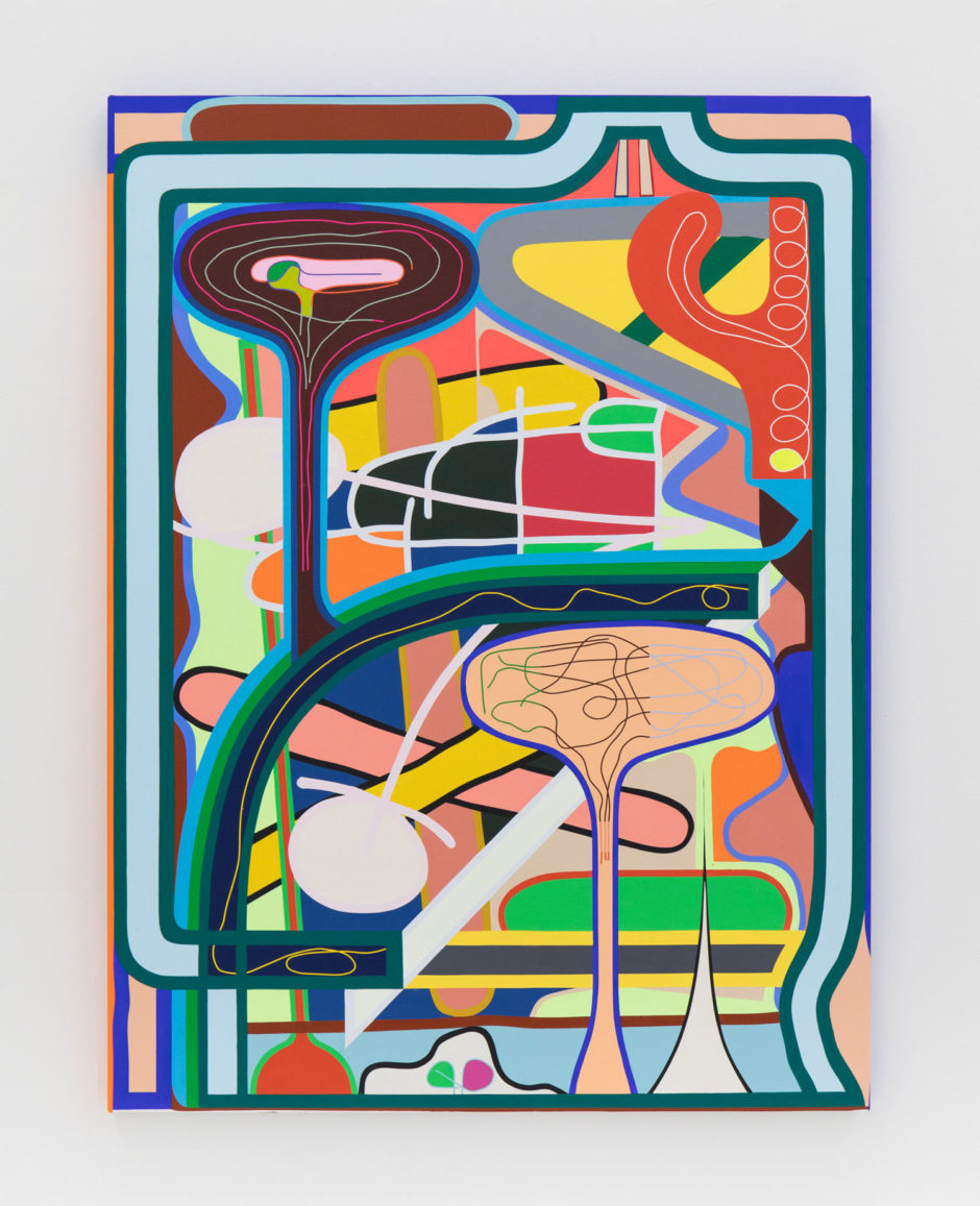 "Eric Shaw, ""No Wrong Way"", 2016, acrylic on canvas, 48 x 36 inches, 122 x 91.5 cm"