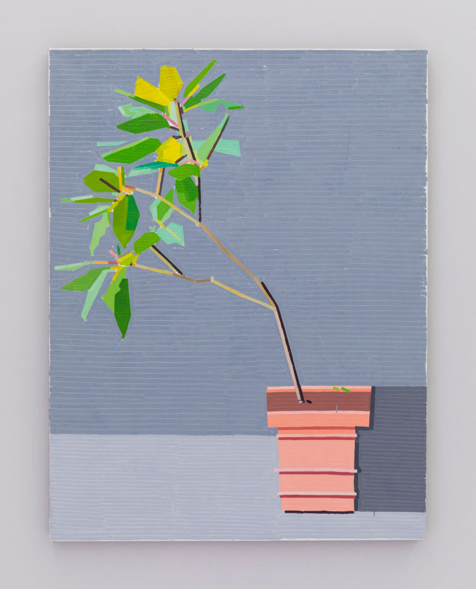 "Guy Yanai, ""La Mortella Garden III"", 2016, oil on linen, 51 x 39.5 inches, 130 x 100 cm"